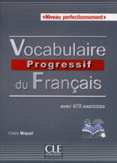 Vocabulaire progressif du francais - Nouvelle edition : Livre + Audio CD Niveau Perfectionnement - фото обкладинки книги
