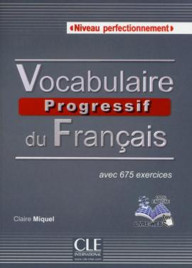 Vocabulaire progressif du francais - Nouvelle edition : Livre + Audio CD Niveau Perfectionnement - фото книги