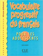 Vocabulaire progressif du francais pour les adolescents : Livre debutant - фото обкладинки книги