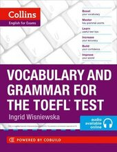 Vocabulary and Grammar for the TOEFL Test - фото обкладинки книги