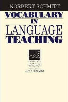 Vocabulary in Language Teaching - фото книги