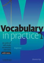 Vocabulary in Practice 1 - фото обкладинки книги
