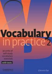 Vocabulary in Practice 2 - фото обкладинки книги