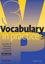 Аудіодиск Vocabulary in Practice 3