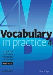 Vocabulary in Practice 4 - фото обкладинки книги
