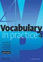 Аудіодиск Vocabulary in Practice 4