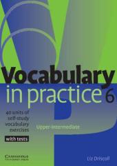 Vocabulary in Practice 6 - фото обкладинки книги