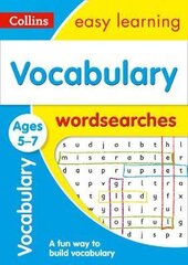 Vocabulary Word Searches. Ages 5-7 - фото обкладинки книги