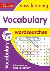 Vocabulary Word Searches. Ages 7-9 - фото обкладинки книги