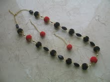 Вишиванка (намисто і сережки)