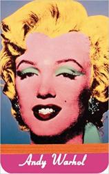Warhol Marilyn Mini Journal - фото обкладинки книги