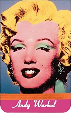 Warhol Marilyn Mini Journal - фото книги