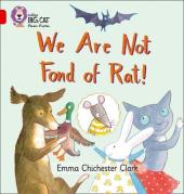We Are Not Fond of Rat - фото обкладинки книги