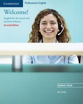 Welcome! Student's Book : English for the Travel and Tourism Industry - фото обкладинки книги