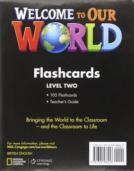 Welcome to Our World 2: Flashcards Set - фото книги