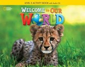 Welcome to Our World 3: Activity Book with Audio CD - фото обкладинки книги