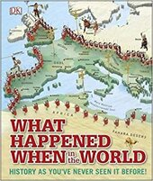 What Happened When in the World : History as You've Never Seen it Before! - фото обкладинки книги