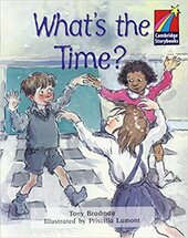 What's the Time? Level 2 ELT Edition - фото обкладинки книги