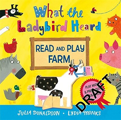 Книга What the Ladybird Heard Read and Play Farm Hardcover