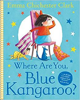 Where Are You, Blue Kangaroo? - фото книги