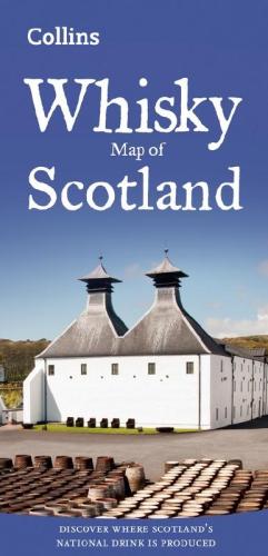 Мапа Whisky Map of Scotland