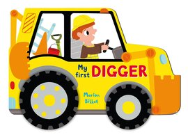 Whizzy Wheels: Digger - фото книги