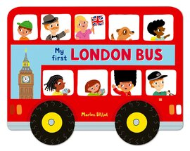 Whizzy Wheels: London Bus - фото книги