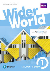 Wider World 1 Students' Book with MyEnglishLab Pack - фото обкладинки книги