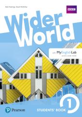 Wider World 1 Students' Book with MyEnglishLab Pack - фото обкладинки книги