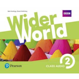 Wider World 2 Class CD (аудіодиск) - фото книги
