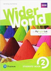 Wider World 2 Students' Book with MyEnglishLab Pack - фото обкладинки книги