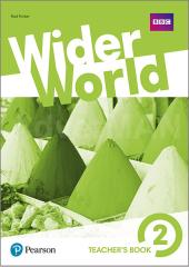 Wider World 2 Teacher's Book + MyEnglishLab Pack + DVD - фото обкладинки книги
