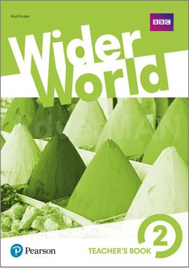 Wider World 2 Teacher's Book + MyEnglishLab Pack + DVD - фото книги