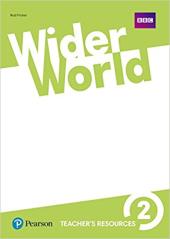 Wider World 2 Teacher's Resource Book  - фото обкладинки книги