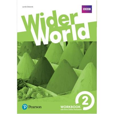 Робочий зошит Wider World 2 Workbook with Extra Online Homework Pack