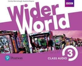 Wider World 3 Class CD (аудіодиск) adv - фото книги