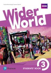 Wider World 3 Students' Book (підручник) - фото обкладинки книги