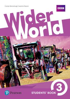 Wider World 3 Students' Book (підручник) - фото книги
