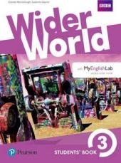 Wider World 3 Students' Book with MyEnglishLab Pack - фото обкладинки книги