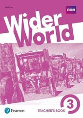 Wider World 3 Teacher's Book + MyEnglishLab Pack + DVD - фото обкладинки книги
