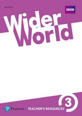 Книга для вчителя Wider World 3 Teacher's Book with DVD-ROM