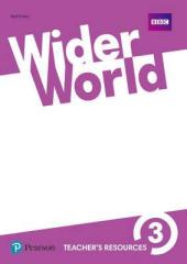 Wider World 3 Teacher's Resource Book - фото обкладинки книги