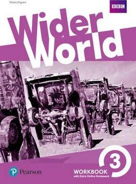 Wider World 3 Workbook  + Online Homework - фото книги