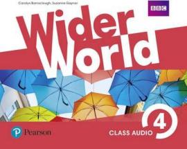 Wider World 4 Class Audio CDs - фото книги
