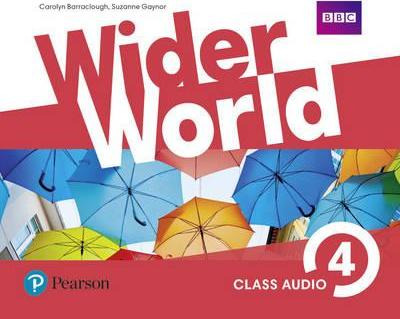 Посібник Wider World 4 Class Audio CDs