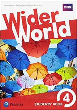 Wider World 4 Students' Book - фото книги