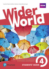 Wider World 4 Students' Book with Active Book - фото обкладинки книги
