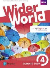 Wider World 4 Students' Book + with MyEnglishLab - фото обкладинки книги