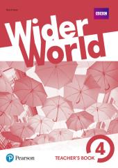 Wider World 4 Teacher's Book + DVD - фото обкладинки книги