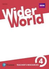 Wider World 4 Teacher's Resource Book - фото обкладинки книги